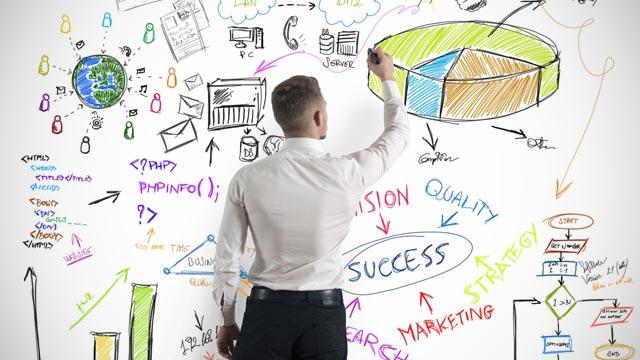 Modern business concept